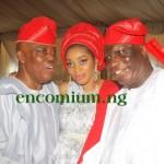 Chief Okoya & Shade with Justice Oguntade