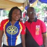 Funke Akindele (l)