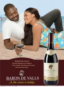Baron De Ville Press Ad copy
