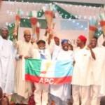 Lagos State Governor, Mr. Babatunde Fashola SAN with his  Ekiti, Ogun, Imo, Osun, Zamfara, Borno, Nasarawa, Edo and Oyo States counterparts
