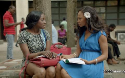 Dorcas Shola Fapson and Leonora Okine in Shuga Series 3