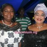 Iyalode Adunni Bankole with Dame Abimbola Fashola