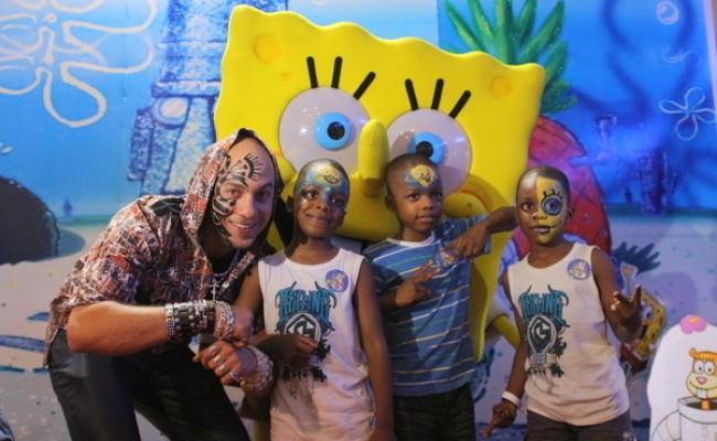 DJ SOSE, SPONGEBOB AND KIDS