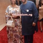 John Momoh & wife