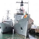 THE NIGERIA NAVY SHIPS, OKPABANA; CENTENARY; SAGBAMA AND PROSPERITY INAUGURATED BY PRESIDENT GOODLUCK JONATHAN AT THE NAVAL DOCKYARD, VICTORIA ISLAND LAGOS