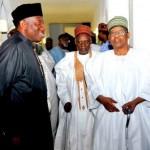 President Jonathan, Shehu Shagari and Ibrahim Babangida