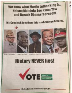 APC's advert