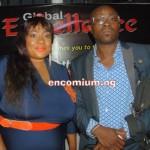 Foluke Daramola-Salako and husband, Kayode