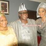 Alhaja Kuburat Okoya, Chief Gbenga Obasa & Chief Mrs Shade Okoya