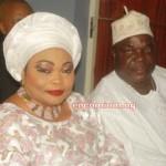 Chief Olugbode & Wife Alhaja Sherifat Olugbode