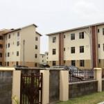 Cross view of the Co-operative Home Ownership Incentive Scheme (CHOIS) Garden Estate, Abijo GRA, Ibeju Lekki Lagos