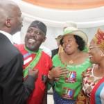 Governor Fashola, Rochas Okorocha, Mrs. Nneoma Nkechi Okorocha and the Mrs. Mrs. Titi Laoye-Tomori