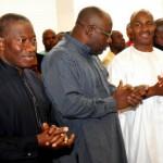 President Jonathan with Gov Seriake Dickson of Bayelsa