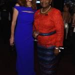 Samantha Power  and Obiageli Ezekwesili (photo credit Larry Busacca  Getty Images )