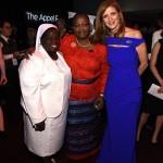 Sister Rosemary Nyirumbe, Obiageli Ezekwesili and Samantha Power (photo credit Larry Busacca  Getty Images)