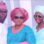 Uche Dike and her kids, Chubby and Dumebi