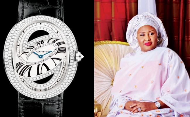 Aisha-Buhari-Wristwatch