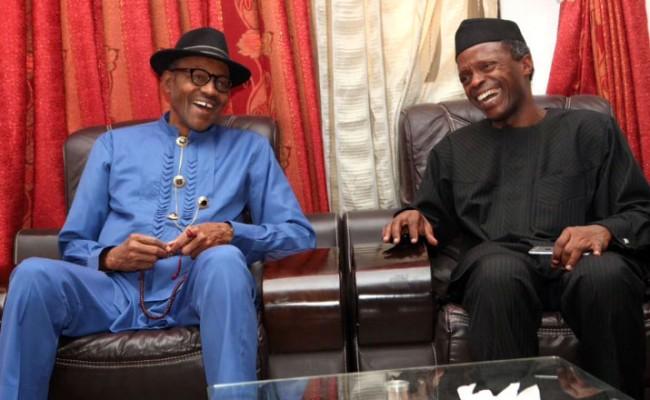 Buhari-Osibanjo-smiling