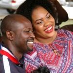 Mosun Filani with husband