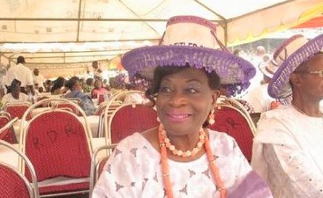 1-2 Madam Kofo Akerele Bucknor - X Lagos state Deptuty Gov.