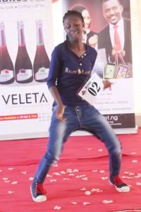 Adejoke- Top 1st, Dance segment