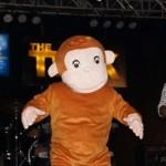 MI dressed in a Mascot