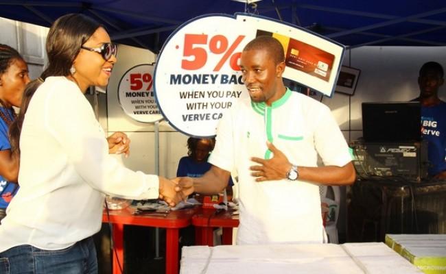 Marketing Manager, Verve, Enyioma Anaba and Charles Oluwagbemi