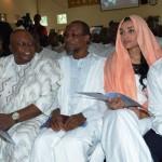 L-R  Lagos  State  governor, Akinwunmi  Ambode,  Taraba  State governor, Mr. Isiaku  Dickson,  Osun  State  governor, Rauf  Aregbesola,  the  wife of  Edo  State  governor, Edo  State  governor  Adams  Oshiomole