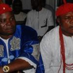 HRM Igwe Samuel O. Uche and HRM Igwe Anthony Okechuckwu Onyekwe