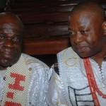 HRH Eze Samson Okechukwu and HRH Eze Marcel O. Nnakwe