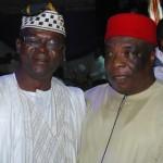 Contr. Raphael Asakwume and HRM Eze Amb. Obianigwe