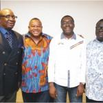 CEAN Board members: Ali Baba, OlisaAdibua, Steve Ayorinde with Wale Ewedemi