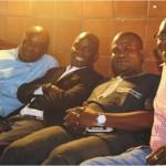 Jide Salako, Ayo Animashaun of HipTV, Mike Dada of AFRIMA &Loye Amsat of News of the people