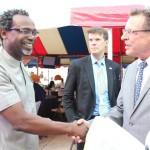 Kelechi Amadi Obi and John Bray US Consular General