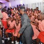 Vice President Yemi Osinbajo, rejoice with some of Corona School pupils