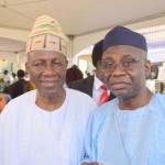 Bashorun J.K Randle and Pastor Tunde Bakare