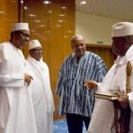 President Buhari with President of Mali H.E. Ibrahim Boubacar Keita, President of Ghana H.E. John Dramani Mahama and President of Gambia H.E. Sheikh Yahya Jammeh