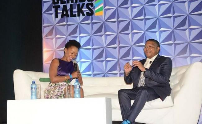 Nikiwe Bikitsha and Fikile Mbalula