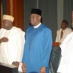 L-R: Lagos State Governor, Mr. Akinwunmi Ambode (2nd left); Nasarawa State Governor, Alhaji Umar Tanko Al-Makura;  Kwara State  Governor, Alhaji Abdulfatah Ahmed and  Kogi State Governor, Yahaya