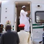 PRESIDENT BUHARI DEPARTS FOR REPUBLIC OF BENIN; PRESIDENT MUHAMMADU BUHARI