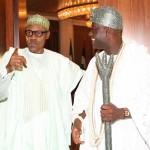 President Muhammadu Buhari and the The Ooni of Ife HRH Oba Adeyeye Ogunwusi Ojaja 11