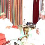President Muhammadu Buhari and The Ooni of Ife HRH Oba Adeyeye Ogunwusi Ojaja 11