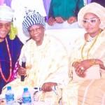 ...with Oba Oyebo Balogun and his Olori