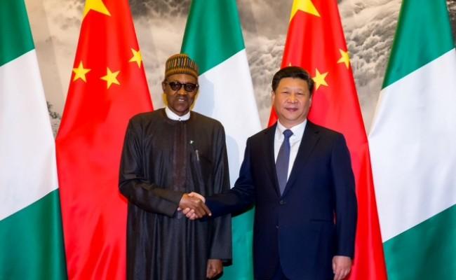 Buhari meets Xi Jinping 4