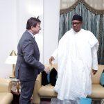 President Muhammadu Buhari receives British High Commissioner to Nigeria, Mr. Mr Paul Arkwright