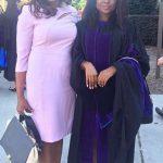 Tolu Falode and mom, Aisha