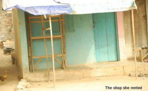 Olajumoke's shop