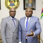 Ambode with Tunde Folawiyo
