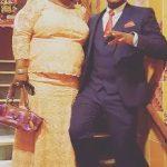 Adefemi Balogun and mom