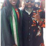 Sennami Onwubuya and dad, Ras Kimono